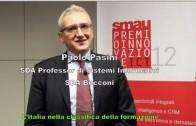 SMAU 2012 – PASINI: «METTERE LA FORMAZIONE AL CENTRO»