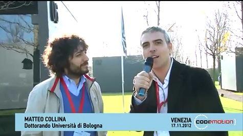 Codemotion 2012 Videointervista a Matteo Collina