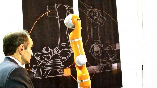 Robotica 2012: Kuka Roboter