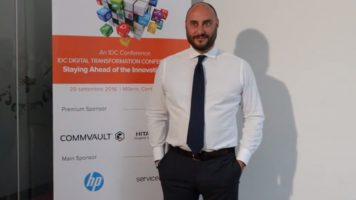 Videointervista a Rodolfo Falcone, Area-Vice President Sales, EMEA South, CommVault