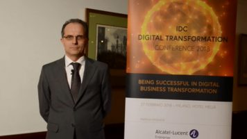 Videointervista a Marco Pasculli, Vice President Communications Business Engine di Alcatel-Lucent Enterprise