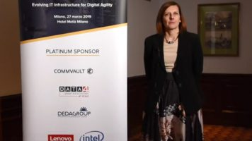 Videointervista a Roberta Marchini, Technical Sales Manager – Lenovo Data Center Group Italia