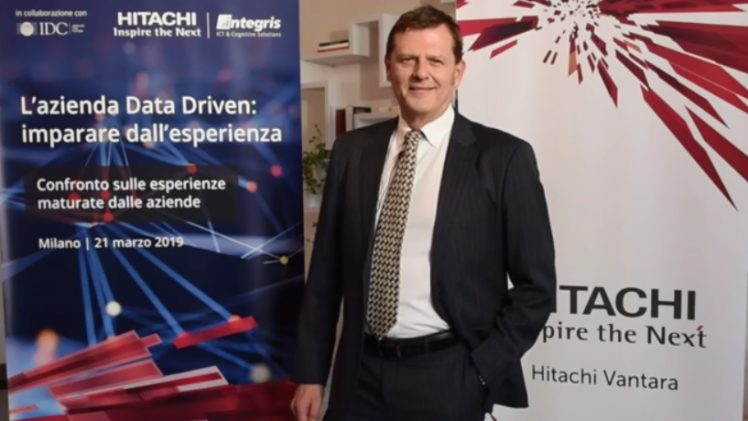Videointervista a Marco Tesini, Country Manager Hitachi Vantara